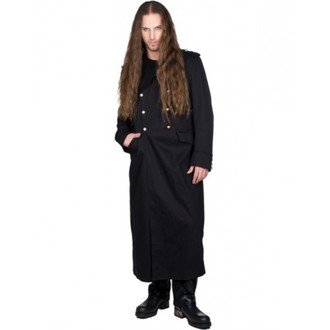 cappotto maschile BLACK PISTOL - Army Coat Denim - BLACK, BLACK PISTOL