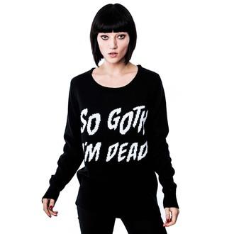 cardigan (unisex) KILLSTAR - Con Goth - Nero, KILLSTAR
