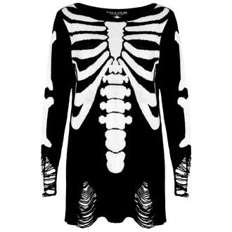 cardigan (unisex) KILLSTAR - Skeletor - Nero, KILLSTAR