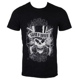 t-shirt metal uomo Guns N' Roses - Faded Skull - ROCK OFF, ROCK OFF, Guns N' Roses
