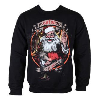 felpa senza cappuccio uomo Mastodon - Hail Santa Holiday - ROCK OFF, ROCK OFF, Mastodon