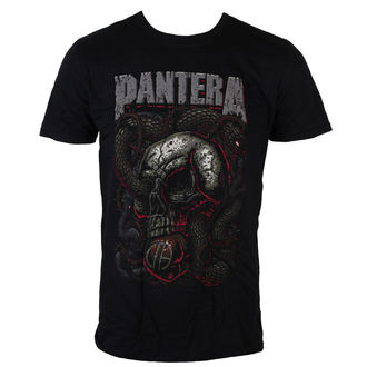 t-shirt metal uomo Pantera - Serpent Skull - ROCK OFF, ROCK OFF, Pantera