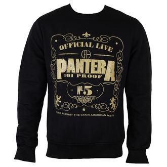 felpa senza cappuccio uomo Pantera - 101 Proof - ROCK OFF, ROCK OFF, Pantera