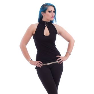 top donna NECESSARY EVIL - Shala Keyhole - Nero, NECESSARY EVIL