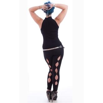 top donna NECESSARY EVIL - Shala Keyhole - Nero, NECESSARY EVIL