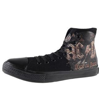scarpe da ginnastica alte donna AC-DC - Rock Or Bust - F.B.I., F.B.I., AC-DC