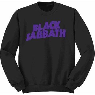 felpa senza cappuccio bambino Black Sabbath - Wavy Logo - ROCK OFF, ROCK OFF, Black Sabbath