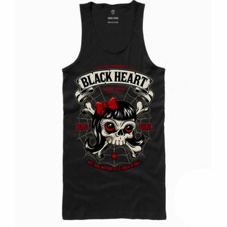 Canotta da donna BLACK HEART - LADY LUCK - NERO, BLACK HEART