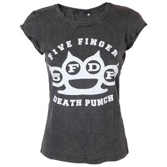 t-shirt metal donna Five Finger Death Punch - Knuckleduster - ROCK OFF, ROCK OFF, Five Finger Death Punch