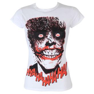 top donna Batman - The Joker-HyaHaHaHa - White - HYBRIS, HYBRIS, Batman