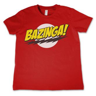 t-shirt film bambino Teorie velkého třesku - Bazinga Super Logo - HYBRIS, HYBRIS
