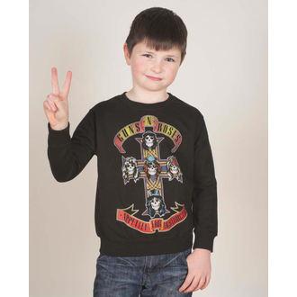 felpa senza cappuccio bambino Guns N' Roses - Appetite For Destruction - ROCK OFF, ROCK OFF, Guns N' Roses