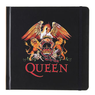 quaderno quaderno Queen - Logo - ROCK OFF, ROCK OFF, Queen