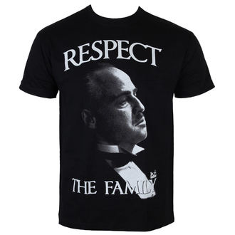 t-shirt film uomo The Godfather - Respect The Family - HYBRIS, HYBRIS, Il padrino
