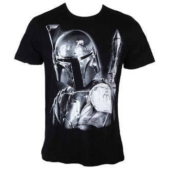 t-shirt film uomo Star Wars - Boba Fett Silver Millar - LEGEND, LEGEND, Star Wars