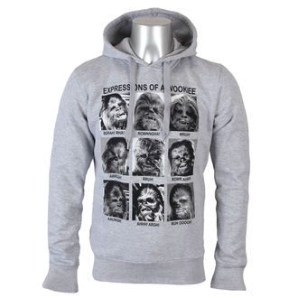 felpa con capuccio uomo Star Wars - Expression Of a Wookie - LEGEND, LEGEND, Star Wars
