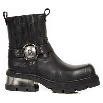 stivali in pelle donna - PLANING NEGRO NEW M3 ACERO - NEW ROCK, NEW ROCK