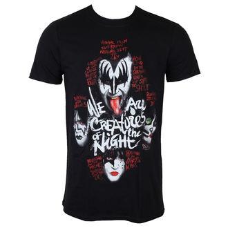t-shirt metal uomo Kiss - Creatures - PLASTIC HEAD, PLASTIC HEAD, Kiss