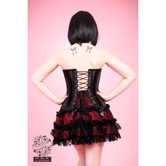 corsetto donna HEARTS E ROSES - Nero Lace, HEARTS AND ROSES