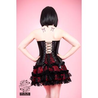 corsetto donna HEARTS E ROSES - Nero Lace, HEARTS AND ROSES