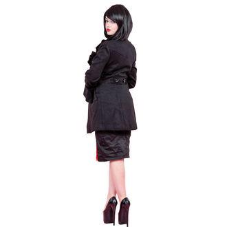 cappotto donna primaverile / autunnale HEARTS E ROSES - arruffato Sleeve Lana, HEARTS AND ROSES