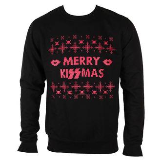 felpa senza cappuccio uomo Kiss - Merry Kissmas - PLASTIC HEAD, PLASTIC HEAD, Kiss