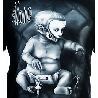 t-shirt uomo - Alone - ART BY EVIL