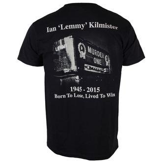 t-shirt metal uomo Motörhead - Lemmy Lived To Win - ROCK OFF, ROCK OFF, Motörhead