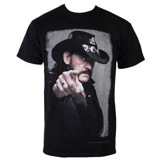t-shirt metal uomo Motörhead - Lemmy Pointing Photo - ROCK OFF, ROCK OFF, Motörhead