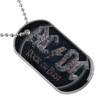 collana ( piastrina) AC / DC - Rock Or Bust - RAZAMATAZ, RAZAMATAZ, AC-DC