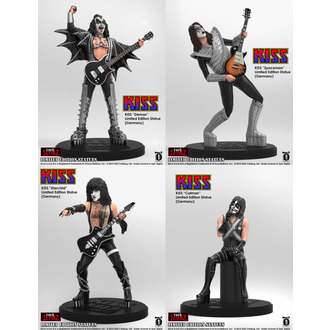 figurine (Set) Kiss - Rock Icon, Kiss