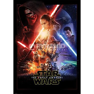 poster Star Wars - Episodio VII - One Sheet - PYRAMID POSTER, PYRAMID POSTERS