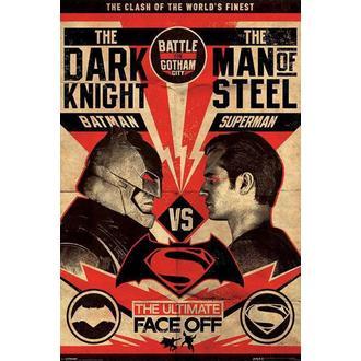 poster Batman Vs Superuomo - Volo Poster- PYRAMID POSTER, PYRAMID POSTERS