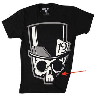 t-shirt uomo Akumu Ink - Skull13 - Grigio- DANNEGGIATO, Akumu Ink