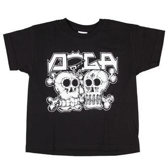 t-shirt metal bambino Doga - Black -, Doga