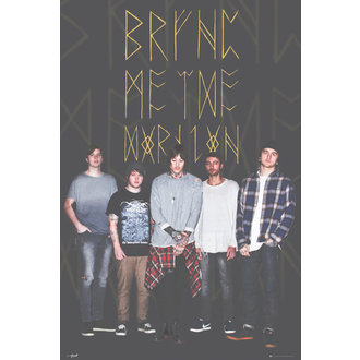 poster Bring Me The Horizon - Group Nero, GB posters, Bring Me The Horizon