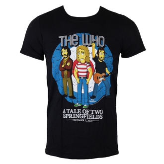 t-shirt metal uomo Who - The Who Bullseye (Simpsons) - LIVE NATION, LIVE NATION, Who