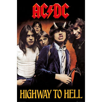 poster AC / DC - Highway To Hell - GB posters, GB posters, AC-DC