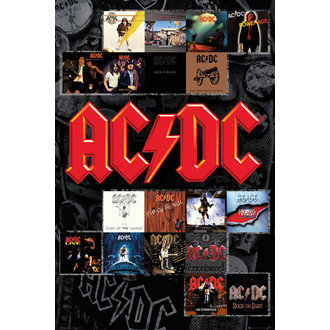poster AC / DC - Copertine - GB posters, GB posters, AC-DC