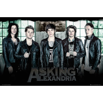 poster Asking Alexandria - Finestra - GB posters, GB posters, Asking Alexandria