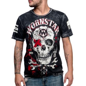 t-shirt hardcore uomo - Death Mechanic - WORNSTAR - WSTM-DMEC