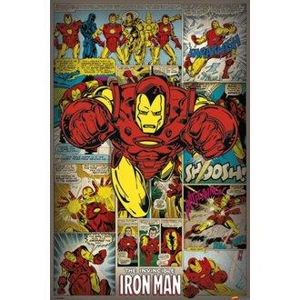 poster Meraviglia Comics - Iron Man Retro - PYRAMID POSTER, PYRAMID POSTERS