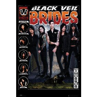 poster Black Veil Brides - Tales of Horror - GB posters, GB posters, Black Veil Brides