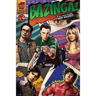 poster teoria il Grande scoppio - Comic - GB posters, GB posters
