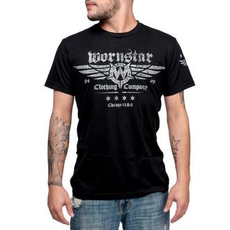 t-shirt hardcore uomo - Machine Shop - WORNSTAR - WSUS-MACS