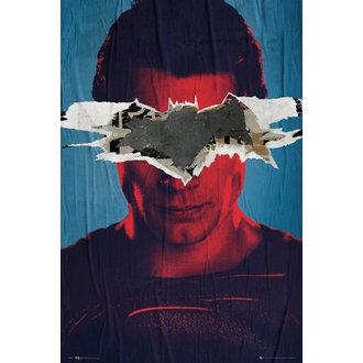 poster Batman Vs Superuomo - Superuomo Teaser - GB posters, GB posters