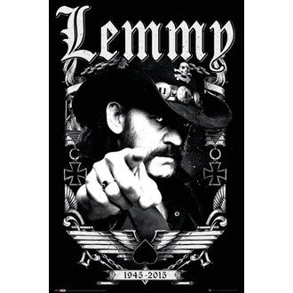 poster Lemmy - Date - GB posters, GB posters, Motörhead