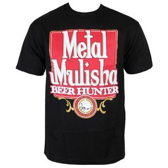 t-shirt street uomo - BEER HUNTER - METAL MULISHA, METAL MULISHA
