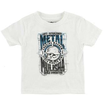 t-shirt street bambino - WEST - METAL MULISHA, METAL MULISHA