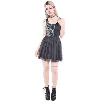 vestito donna IRON FIST - Wishbone - Nero